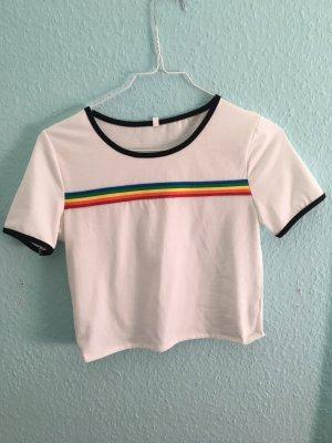 Crop Top Bauchfreies Shirt