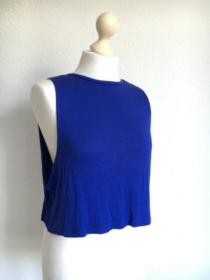Crop top blau 36 Asos