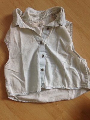 Crop top Bluse jeans