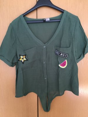 H&M Divided Cropped shirt oker