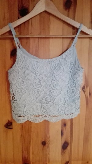 Crop Top hellblau 32