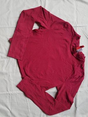 H&M Divided T-shirt court violet coton