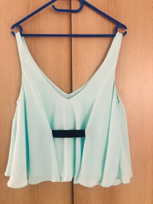 Zara Cropped Top turquoise-mint