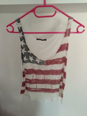 Crop Top mit America Flagge