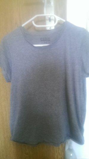 Crop Top, Shirt grau