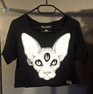 "Crop Top Shirt "" third eye"" von KILLSTAR"