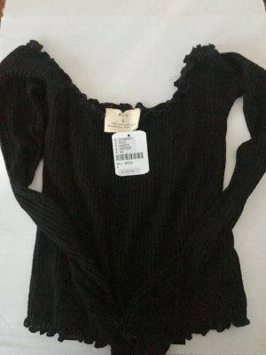Urban Outfitters T-shirt court noir