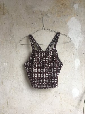 Urban Outfitters Crop-top multicolore