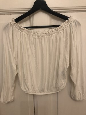 Pins and Needles Cropped shirt wit