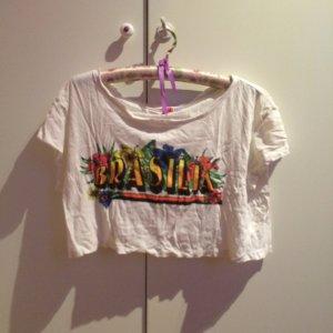Crop Tshirt brasil cool