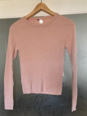 Croped Langarm Pullover