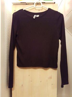Croped langarmshirt