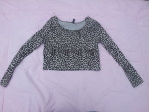 Croped Top Leopard H&M Divided Gr. M
