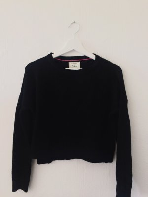 CROPPED BLACK KNITTED SWEATER | COTTON ON
