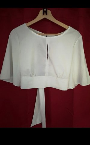 Cropped Shirt white