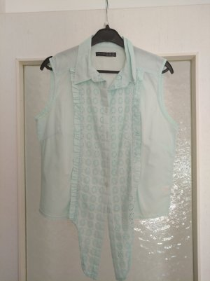 Atmosphere Cropped Shirt turquoise