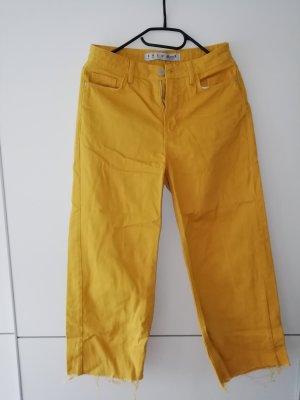Atmosphere Pantalone culotte giallo-giallo-oro