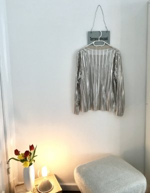 Cropped Glitzer Shirt