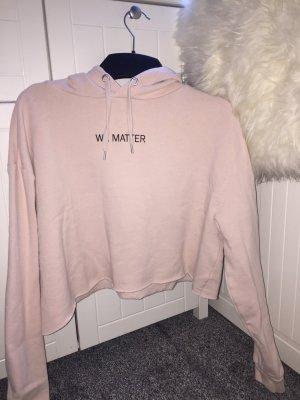 H&M Pull à capuche rosé