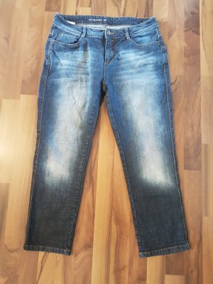 Cropped Jeans coole Waschung Grösse 42