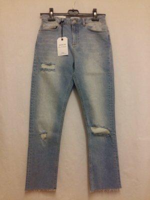 Cropped Jeans von Miss Selfridge Gr. 26