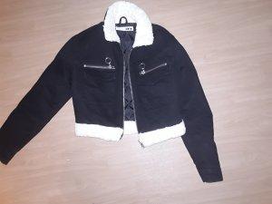 Cropped Jeansjacke von Topshop in Größe 34