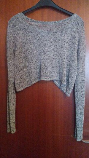 Cropped Langarm-Shirt