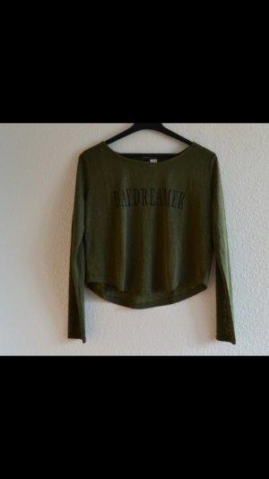 Cropped Langarmshirt