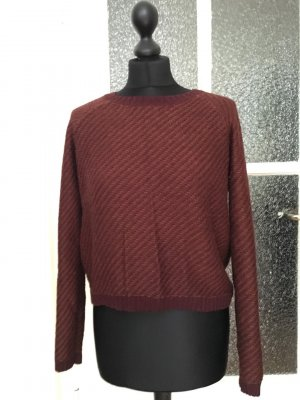 Cropped Pullover in schöner Farbe