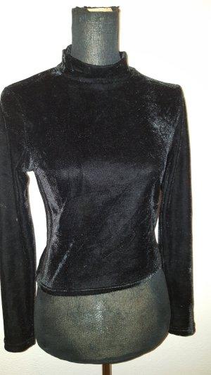 Atmosphere Cropped Shirt black