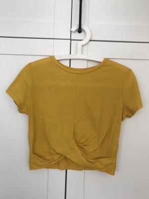 Pimkie Camicia cropped giallo