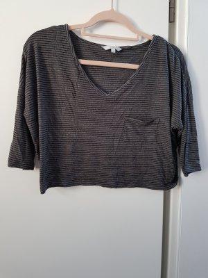 C&A Cropped shirt grijs-donkergrijs