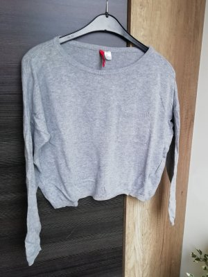 Cropped Shirt langarm H&M