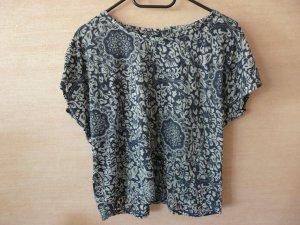 Cropped Shirt mit schönem Muster