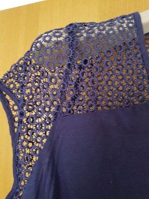 cropped Shirt #NEU# blauviolett# Grösse L