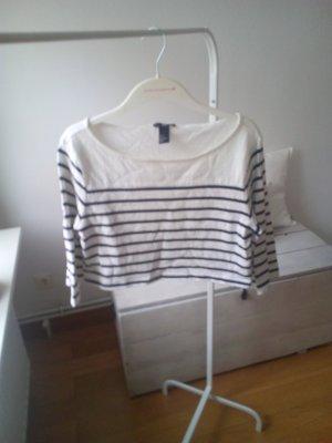 Cropped Shirt Ringelshirt