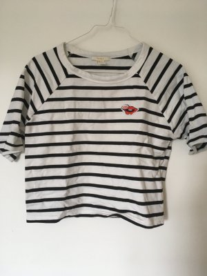 Forever 21 T-shirt court multicolore