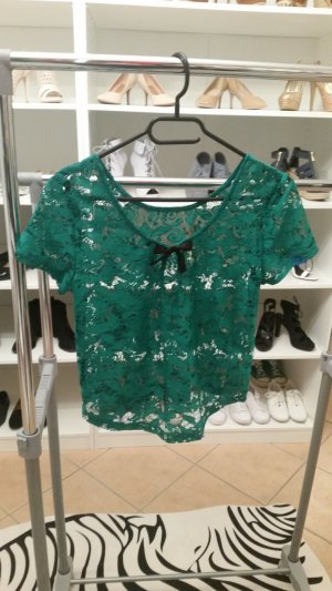 Atmosphere Cropped Shirt forest green