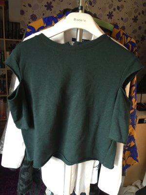 Cropped Shirt von H&M XS
