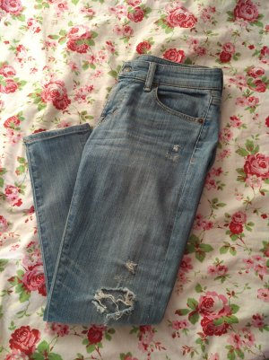 Cropped Skinny Jeans von Denim & Supply by Ralph Lauren