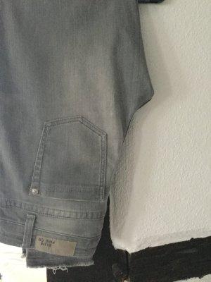 Cropped Slim Fit Jeans Blue Fire Co Size M