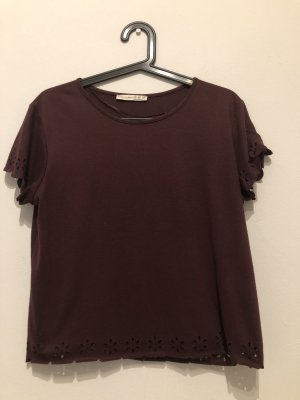 CROPPED T-SHIRT mit MUSTER