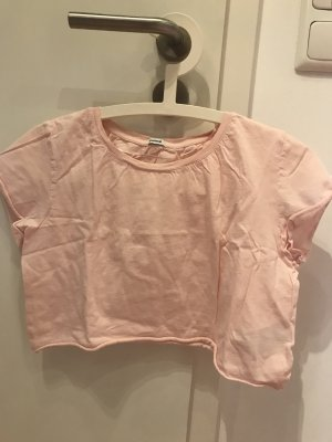 Cropped T-Shirt rosa