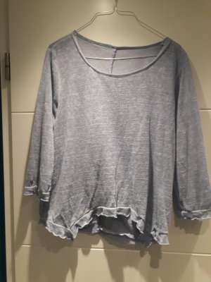 Kenny S. Cropped Top azure