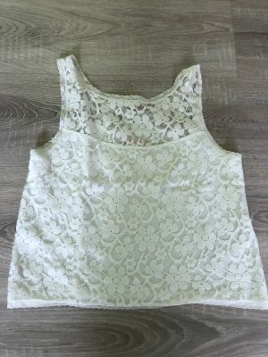 Hollister Cropped top wit