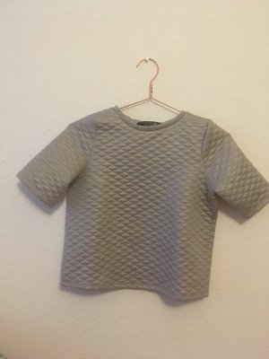 Cropped Top Pulli Gesteppt Tailored