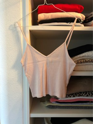Cropped Top rosa Topshop