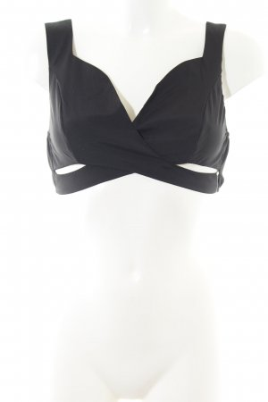 Cropped Top black lingerie style