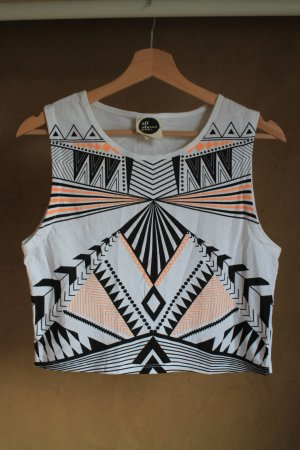 "Cropped Top von ""all about eve"" mit Ethnoprint"