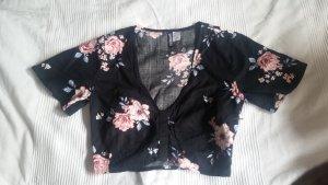 H&M Divided Camisa recortada multicolor Viscosa